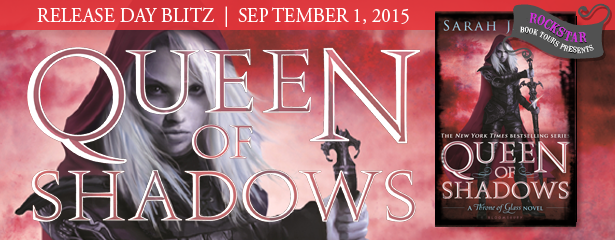 Queen of Shadows Release Day Blitz