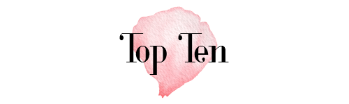 Top Ten Tuesday – Andi's Must Reads