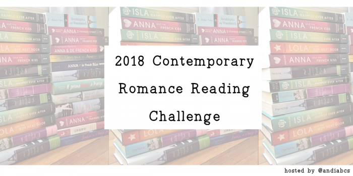 Contemporary Romance Reading Challenge – December Link-Up