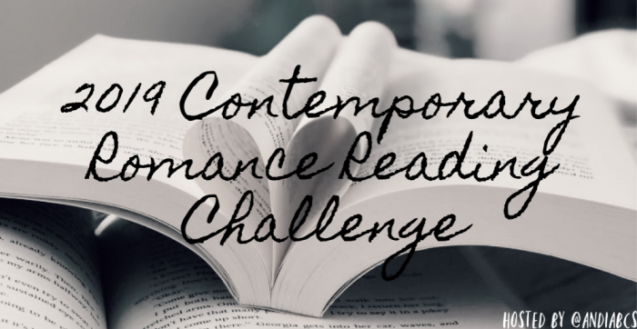 2019 Contemporary Romance Reading Challenge- February Link-Up
