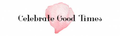 Celebrate Good Times…{Giveaway}